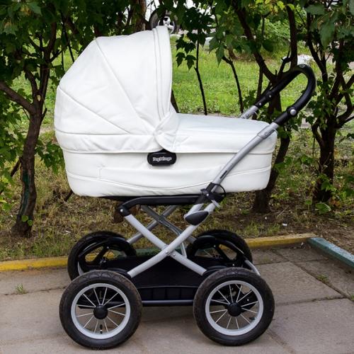 Коляска Peg-Perego Culla Auto White (Пег-Перего Кулла Авто)